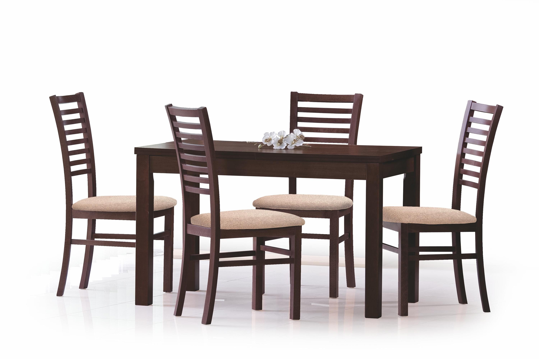 ERNEST 120/160 cm rozkladací stôl tmavý orech