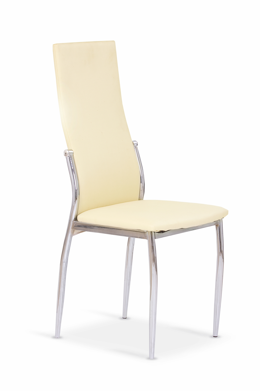 K3 stolička chróm/vanilková