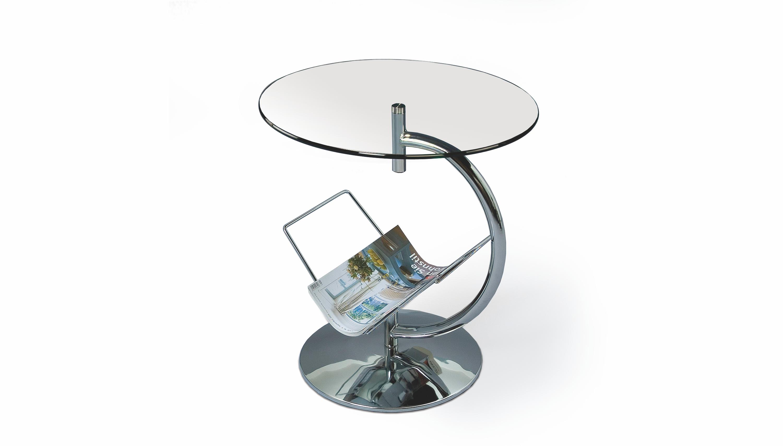ALMA kávový stôl transparent