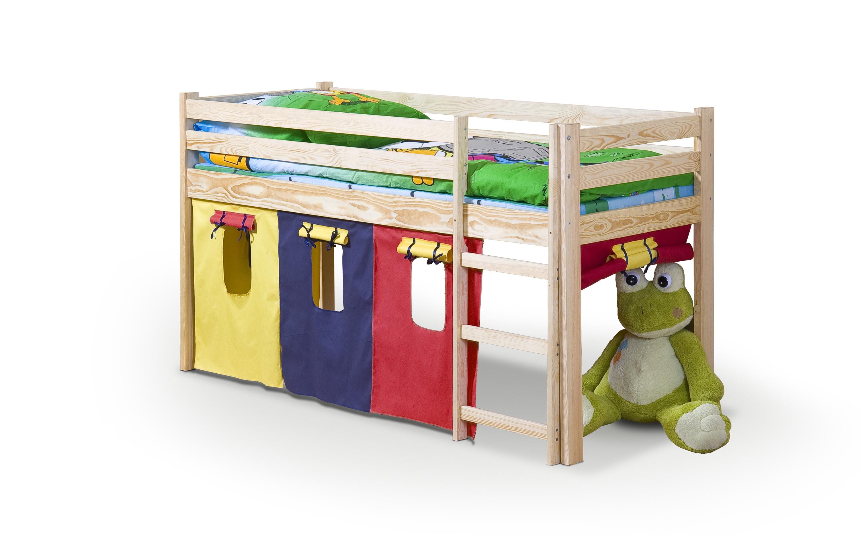 NEO posteľ s matracom borovica