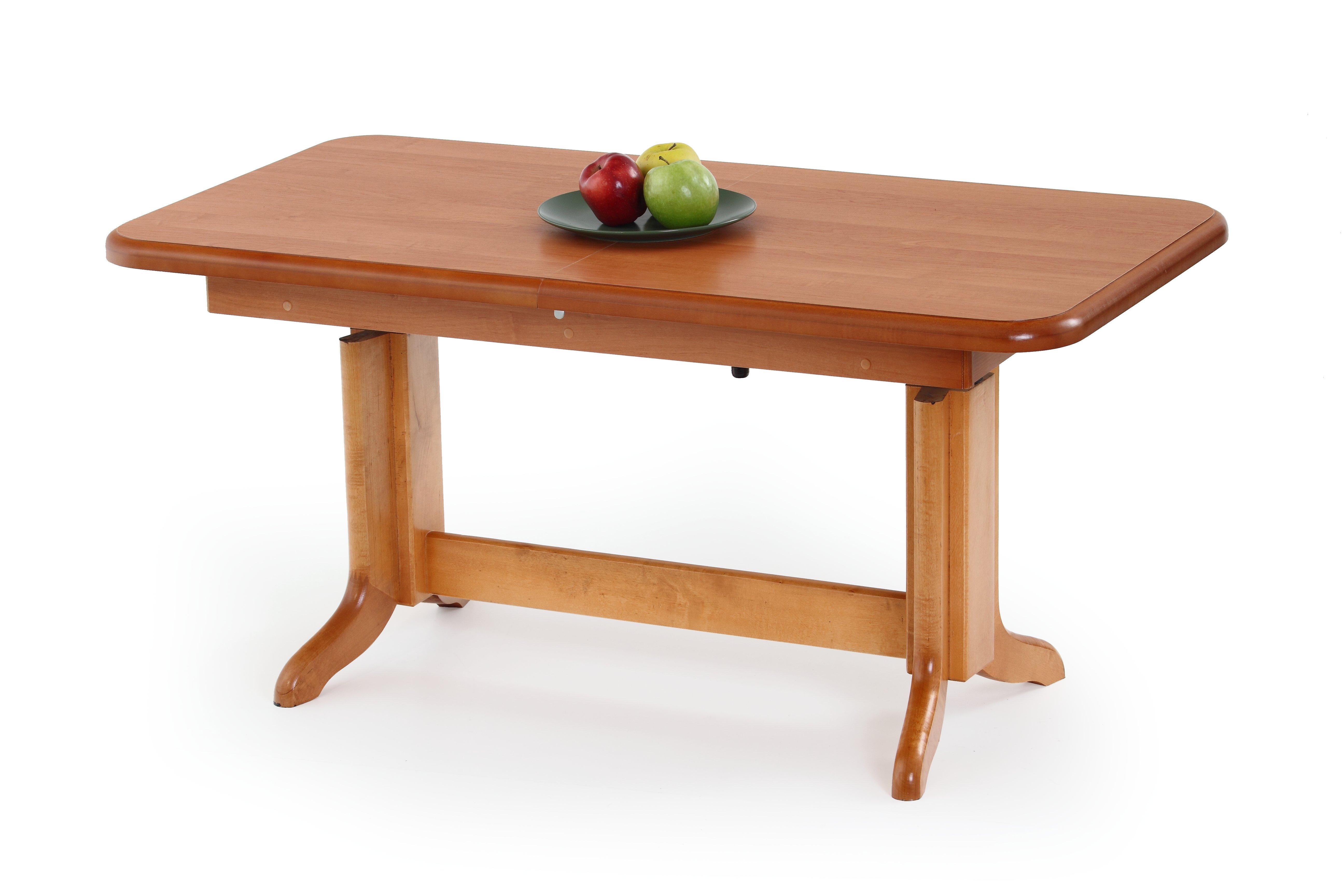 KAROL výškovo nastavitelný kávový stolík jelša