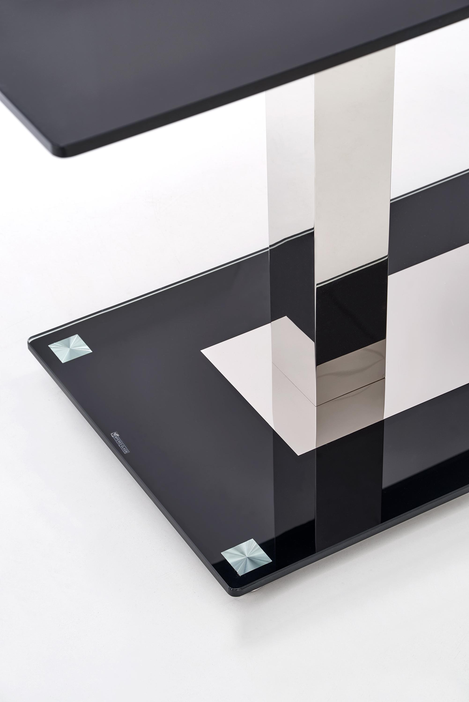 WALTER 2 stôl čierny