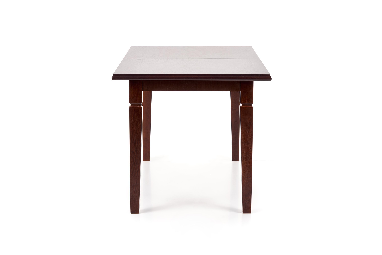 MARCEL rozkladací stôl tmavý orech