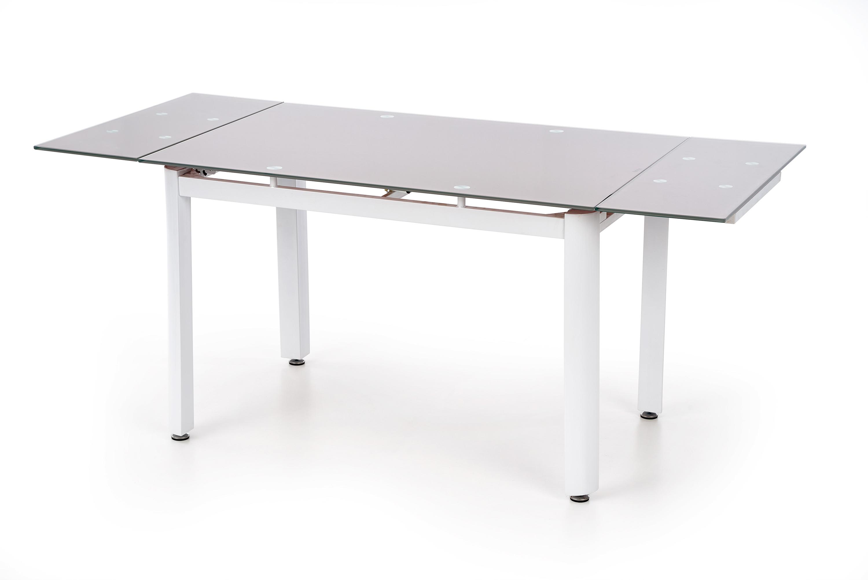 ALSTON stôl béžový/biely