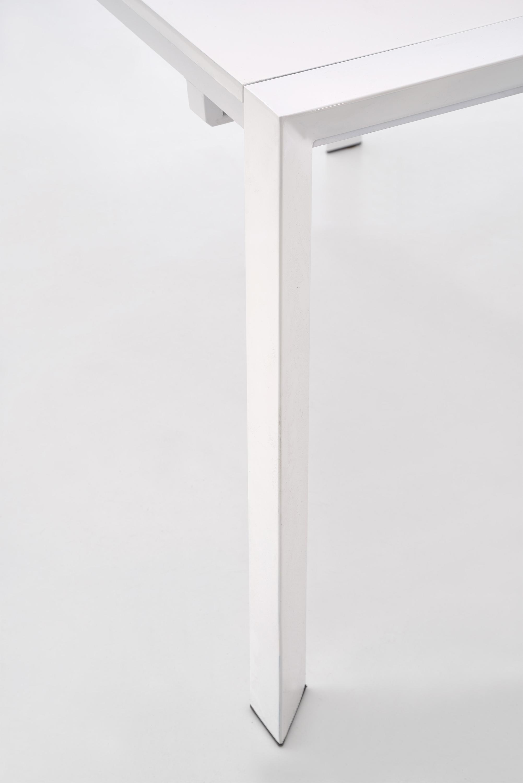 STANFORD XL stôl biela