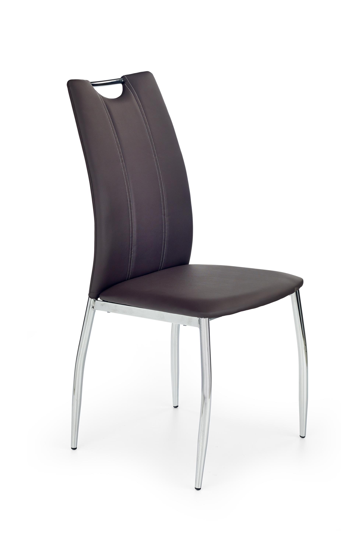 K187 stolička hnedá