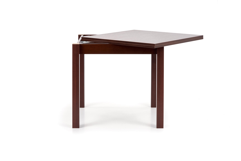 GRACJAN stôl farba tmavý orech