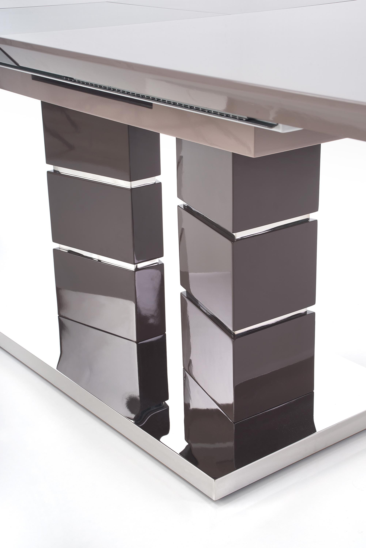 LORD stôl rozkladací svetlo hnedý/tmavo hnedý