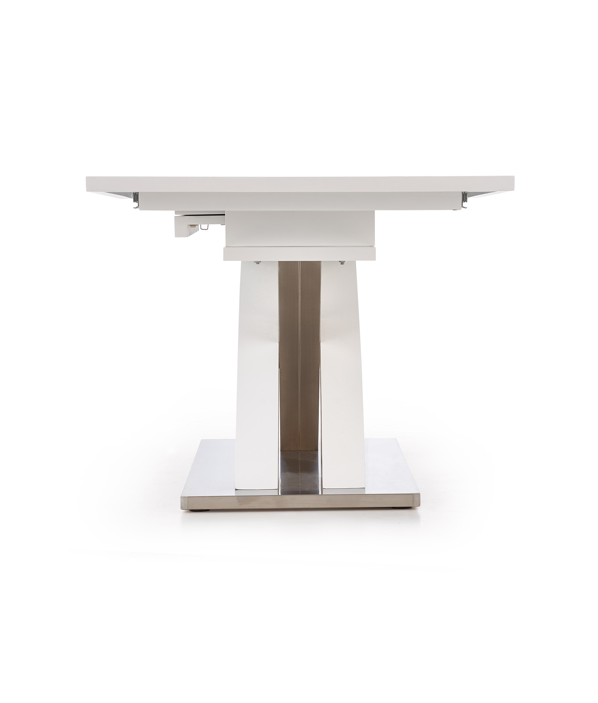 SANDOR stôl rozkladací biely lakovaný