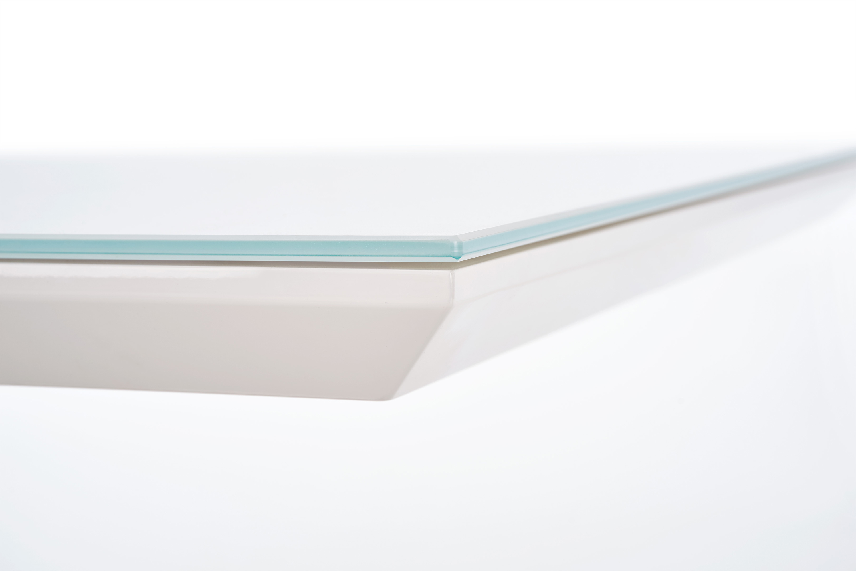 NEXUS stôl extra biely / dub sonoma