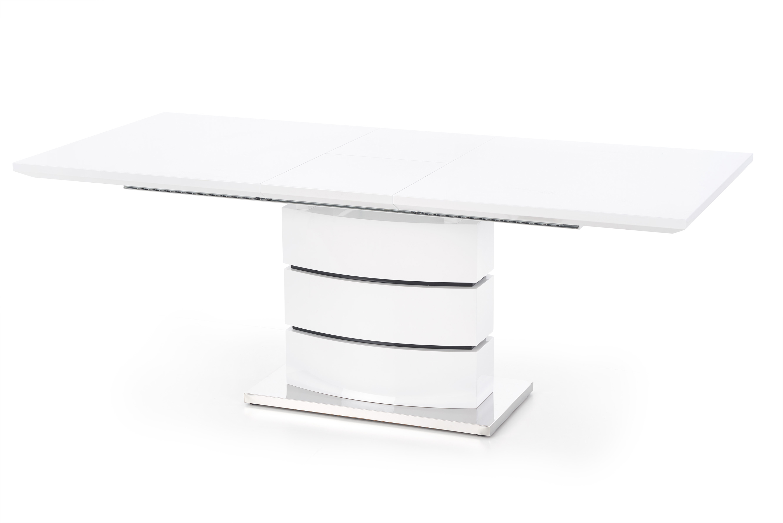 NOBEL stôl rozkladací biely