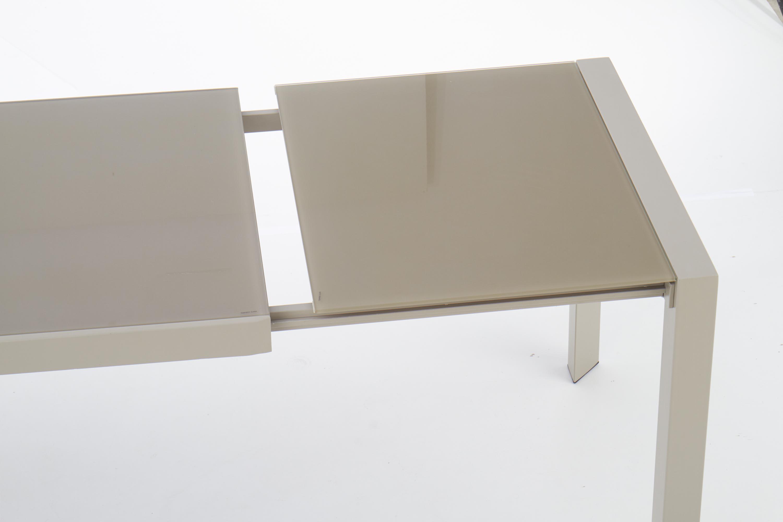 ARABIS rozkladací stôl svetlo hnedá/béžová