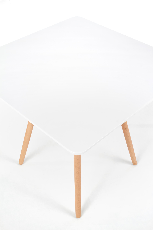 PROMETHEUS štvorcový stôl biely