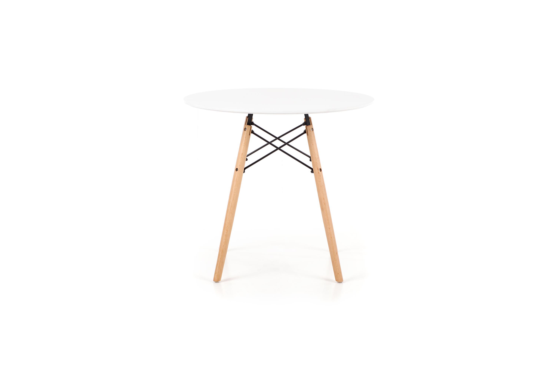 PROMETHEUS okrúhly stôl biely