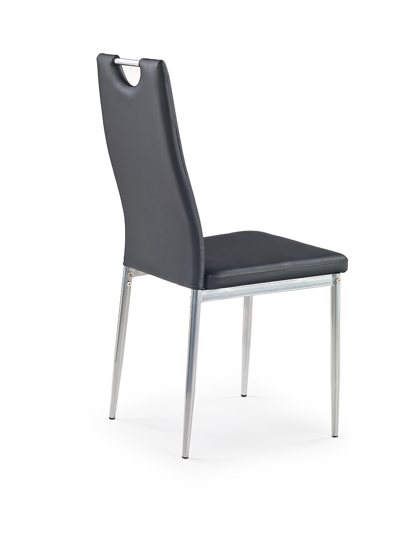 K202 jedálenská stolička, čierna