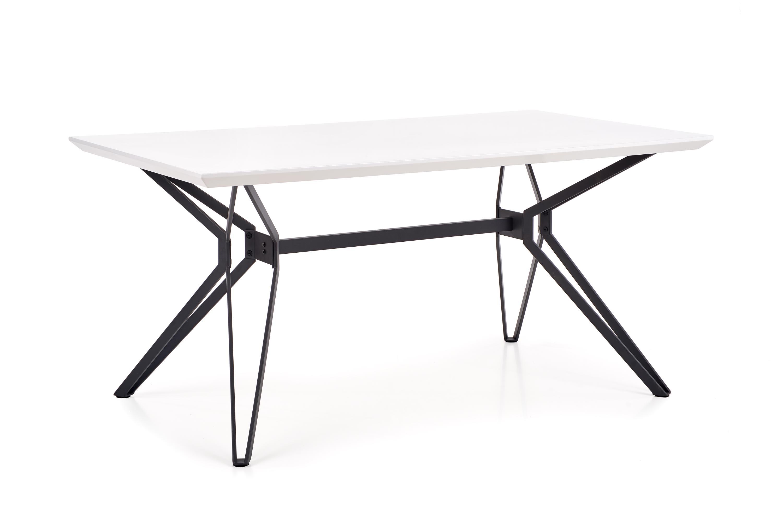 PASCAL stôl biela - čierna