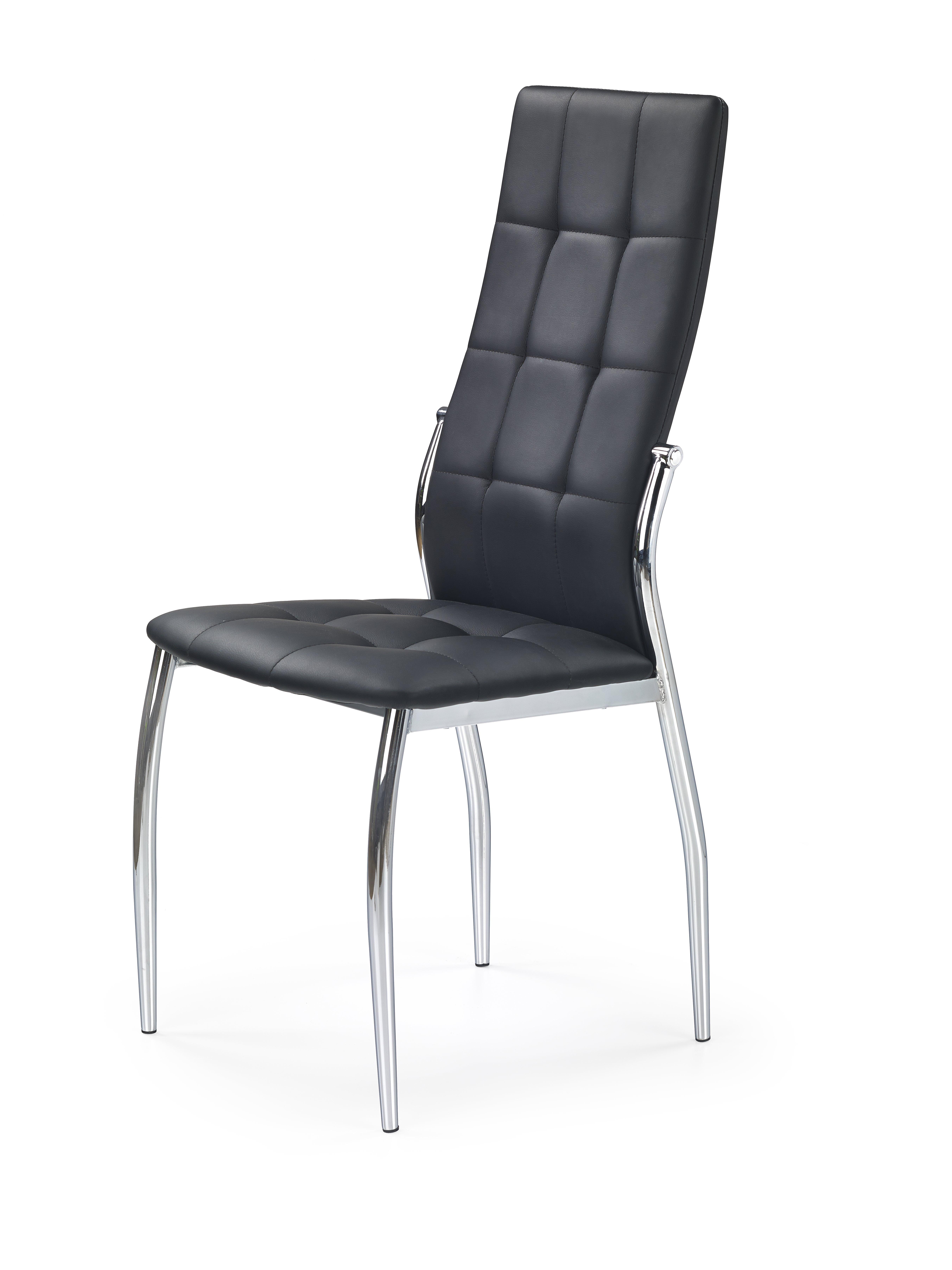 K209 stolička čierna