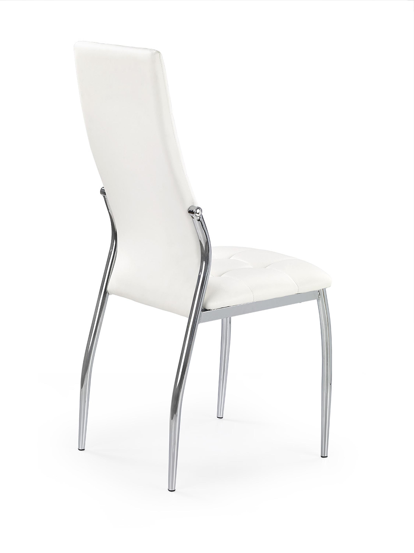 K209 jedálenská stolička, biela