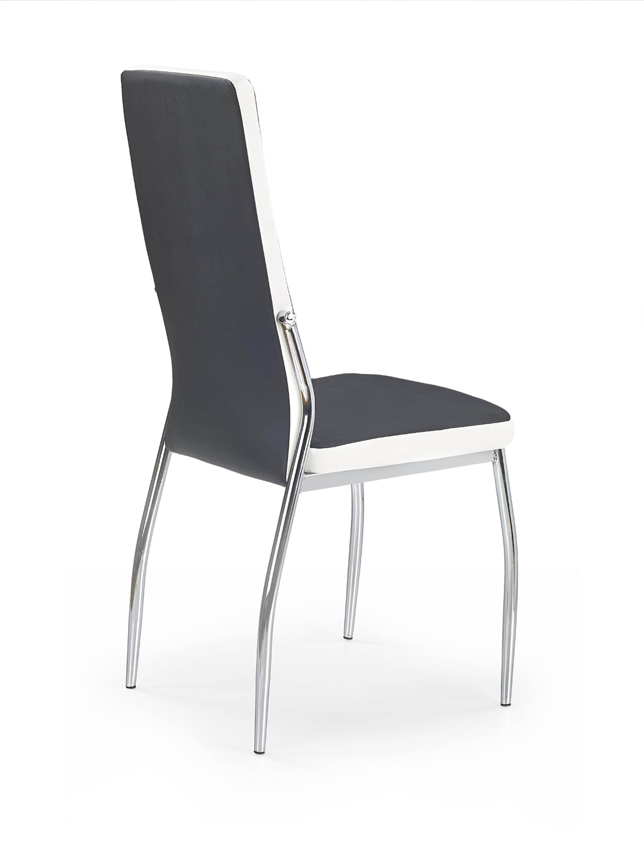 K210 stolička čierna / biela