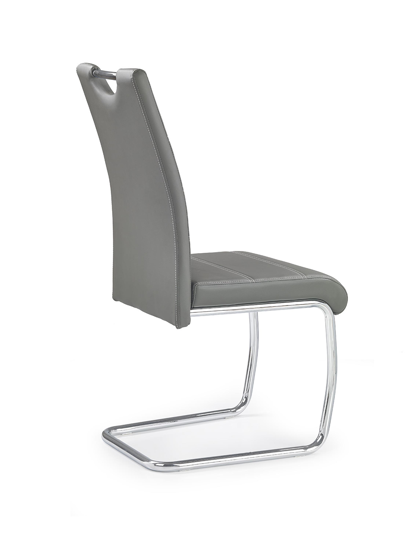 K211 stolička šedá