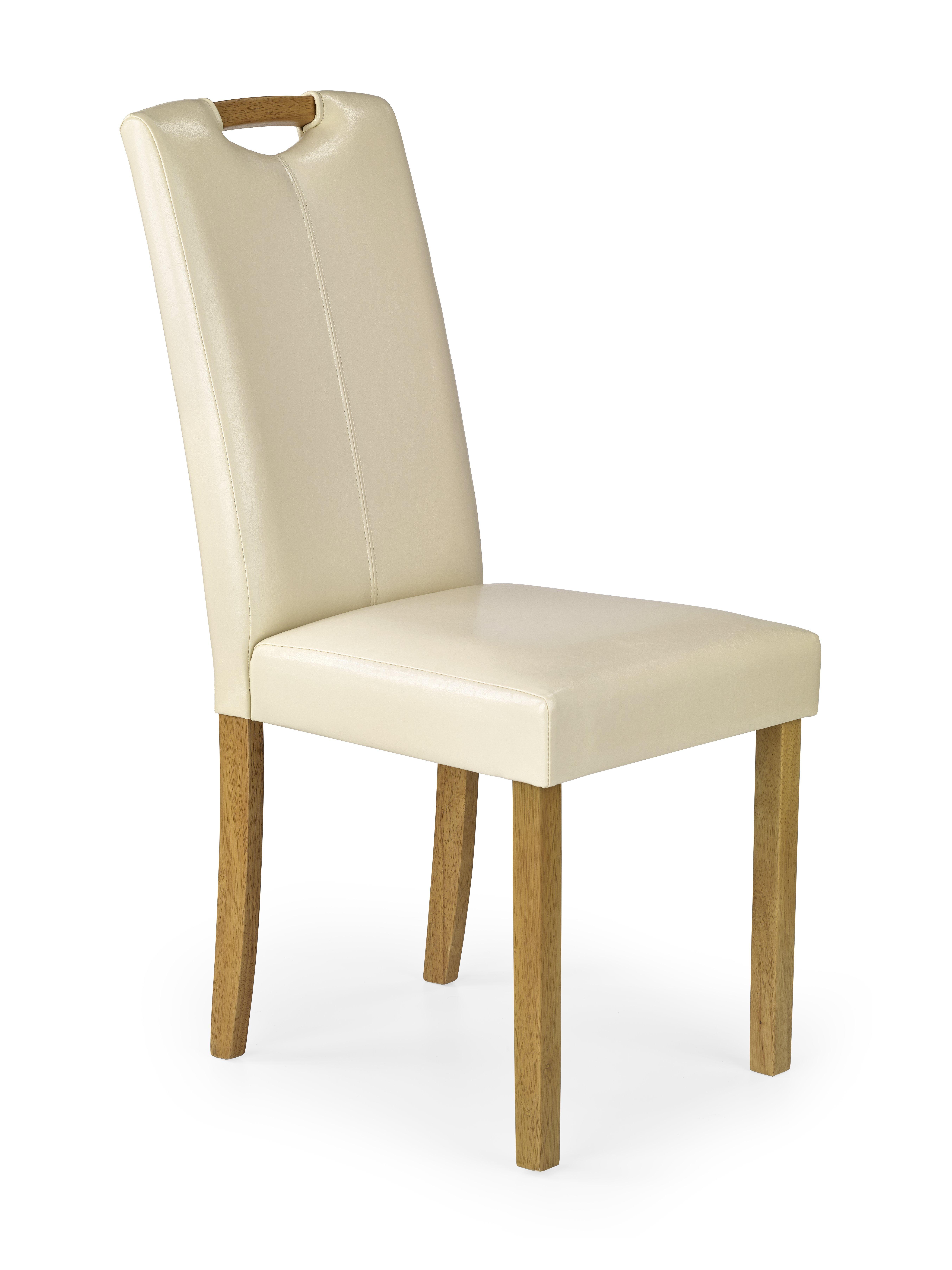 CARO jedálenská stolička, buk / krém
