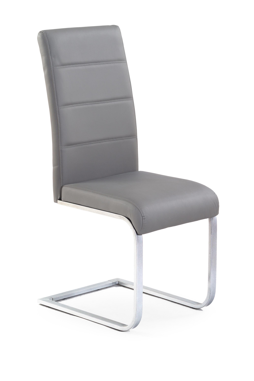 K85 stolička šedá