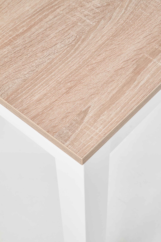 KSAWERY stôl farba dub sonoma / biely