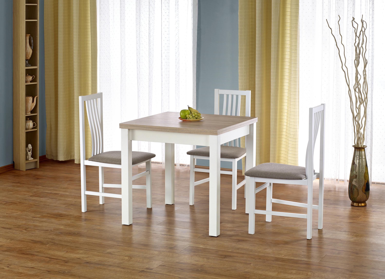 GRACJAN stôl dub sonoma / biela