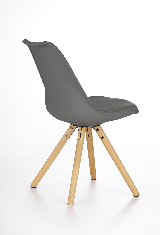 K201 stolička šedá