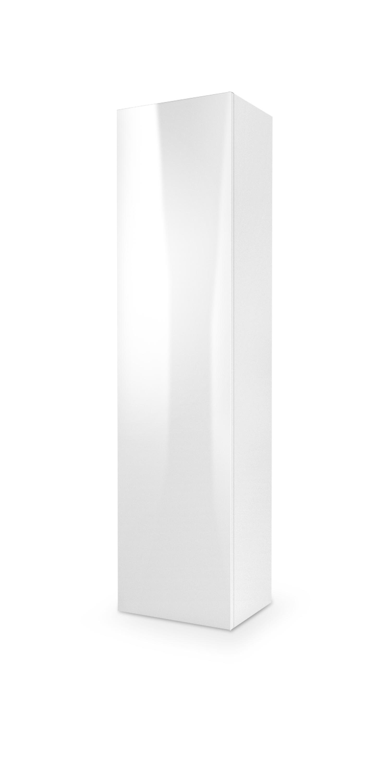 LIVO S-180 závesná komoda, biela