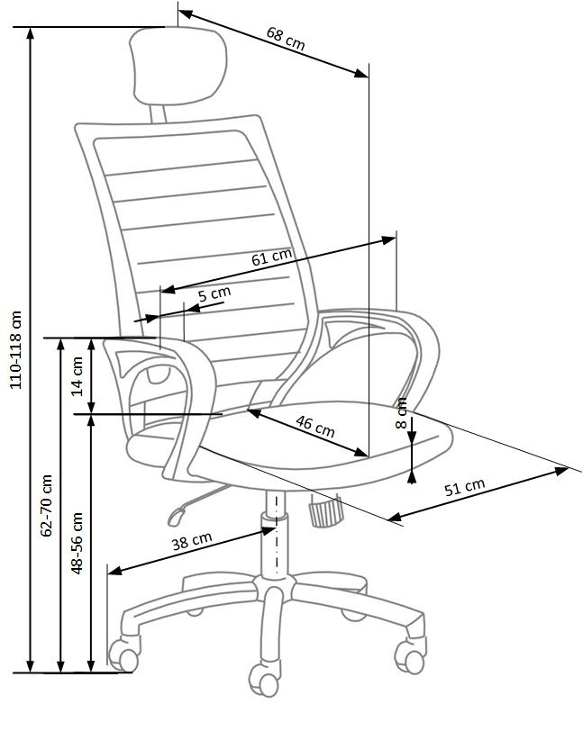 SOCKET kancelárska stolička