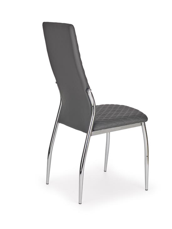 K238 stolička šedá