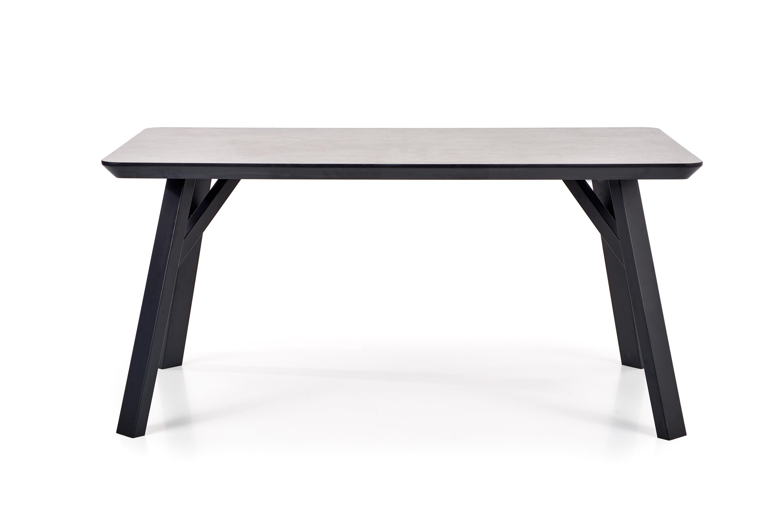 HALIFAX stôl svetlý beton