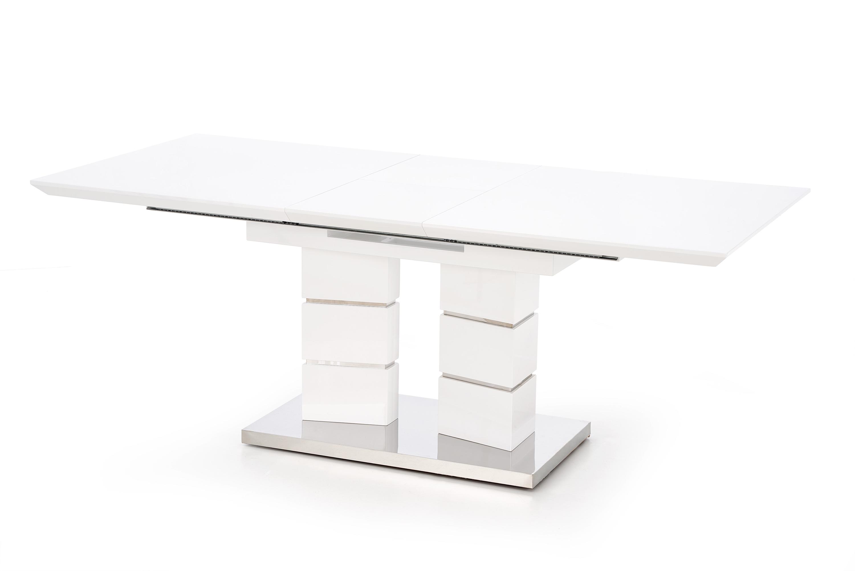 LORD stôl rozkladací biely