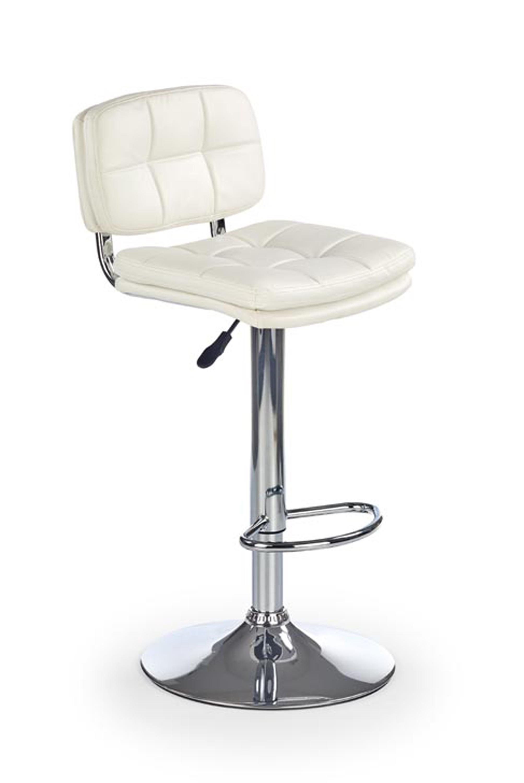 H75 barová stolička biela