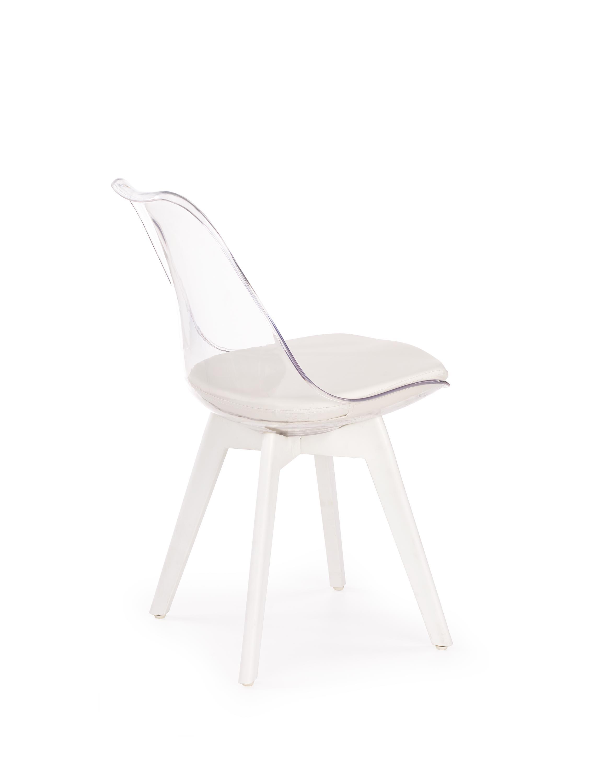 Jedálenská stolička K245 biela