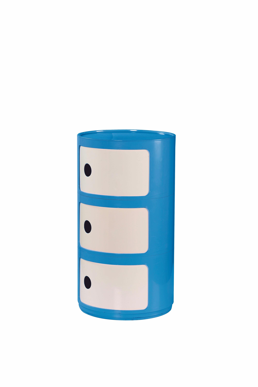 ALF kontajner modro-biele