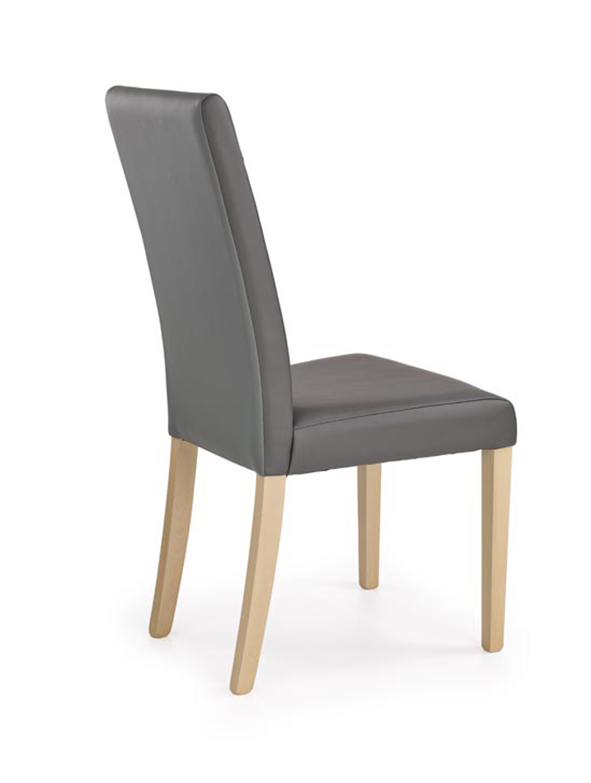 NORBERT stolička dub sonoma / tap. šedá