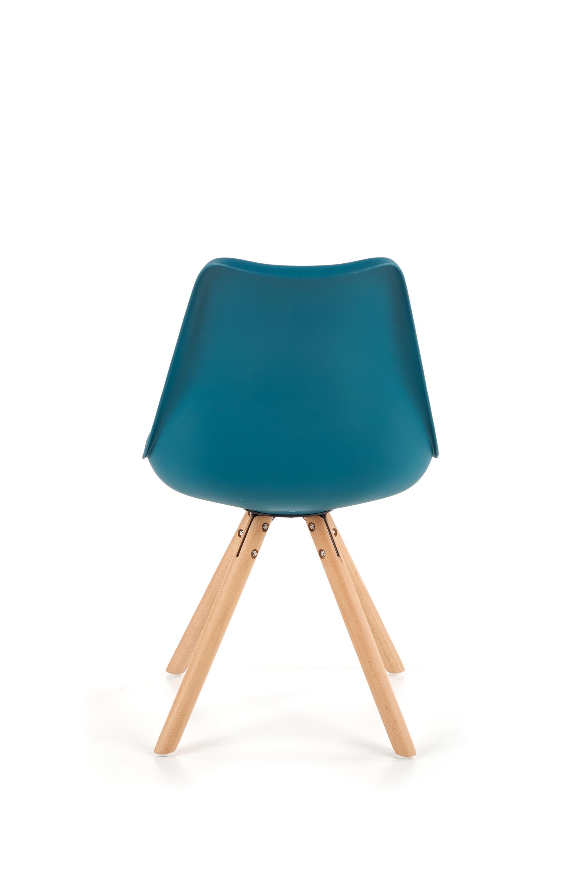 K201 stolička tyrkysová