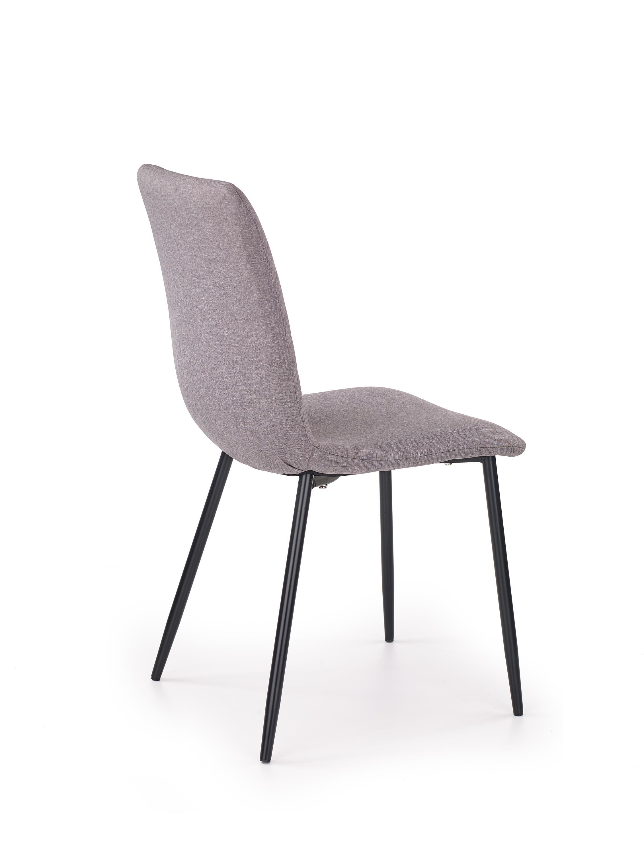 K251 jedálenská stolička, šedá