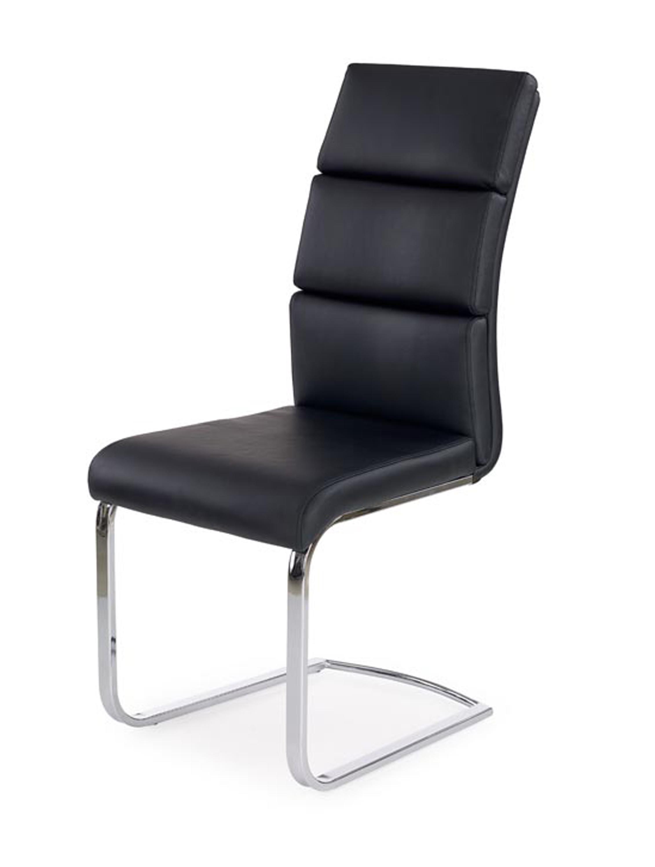 K230 jedálenská stolička, čierna