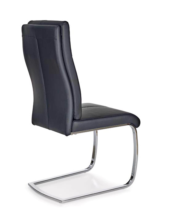 K231 stolička čierna