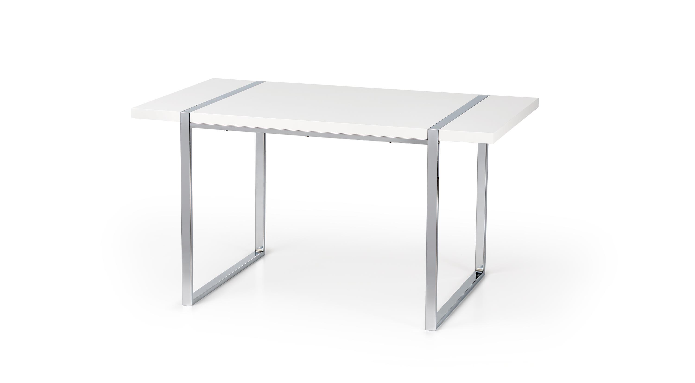 LION stôl biely