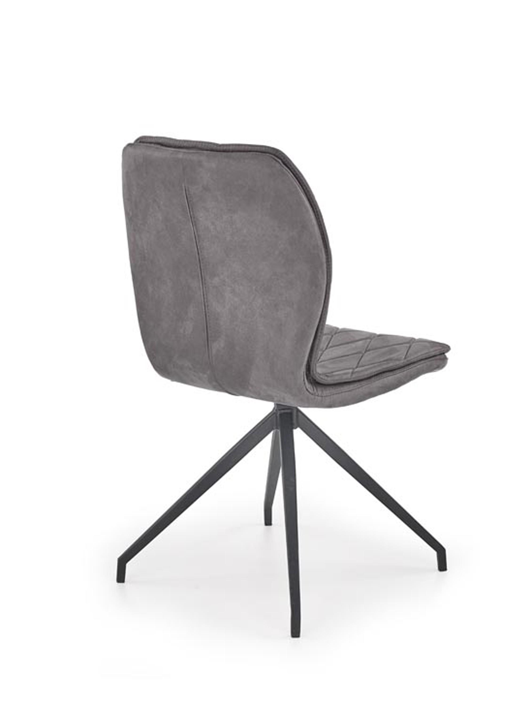 K237 stolička šedá