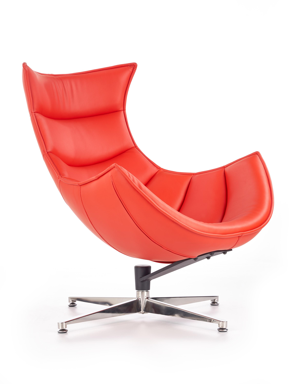 LUXOR relaxačné kreslo, červená