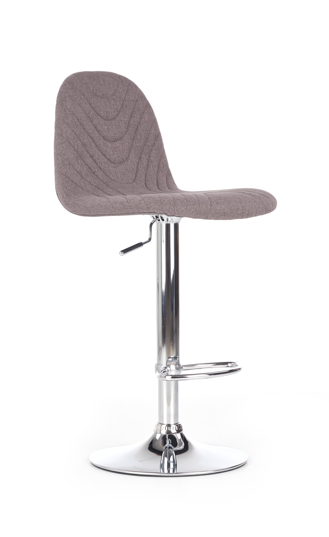H82 barová stolička, svetlo šedá