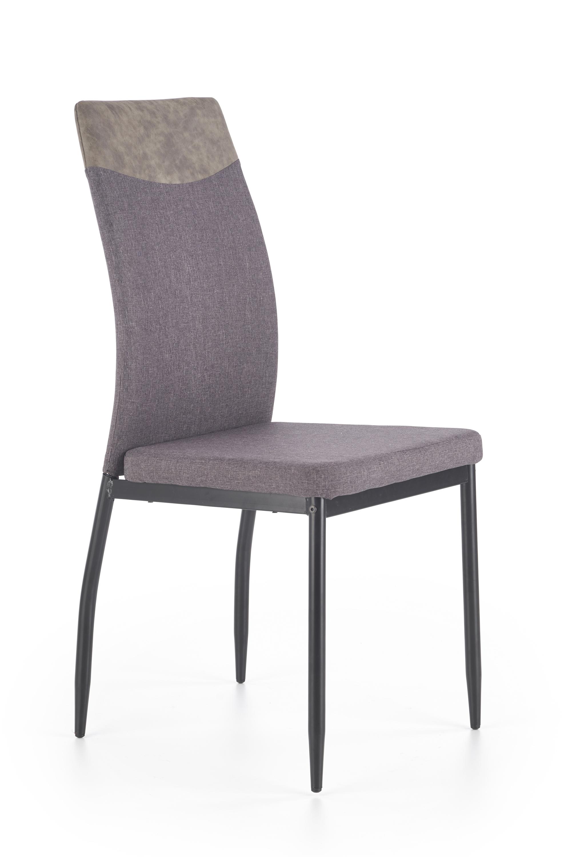 K276 jedálenská stolička, tmavo šedá