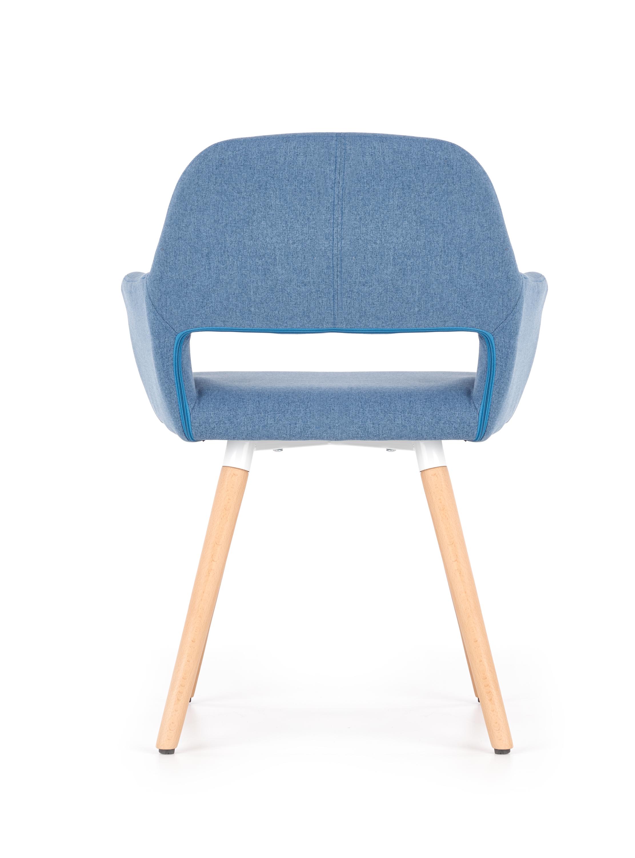 K283 jedálenská stolička, modrá