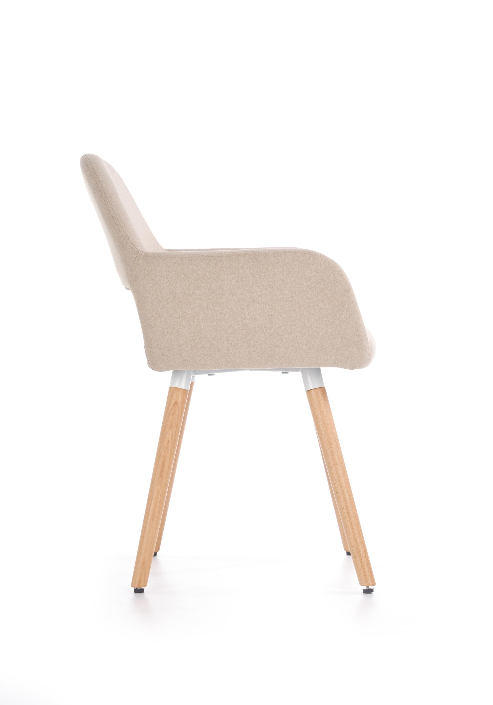 K283 jedálenská stolička, béžová