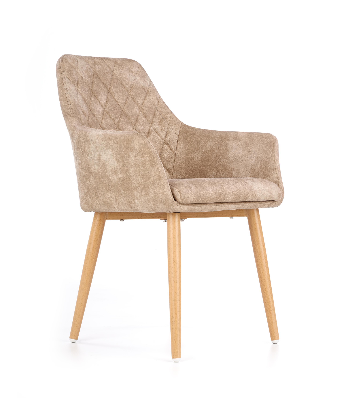 K287 jedálenská stolička, béžová